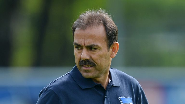 The 51-year-old was shown the door after the 1-0 defeat at home to Bayer Leverkusen