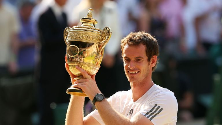 Dunblane native Murray went on to win his second Wimbledon title in 2016