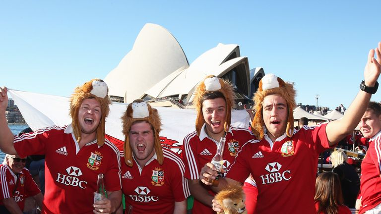 In 2013 in Australia, Lions supporters again come to the forefront of Robson's mind