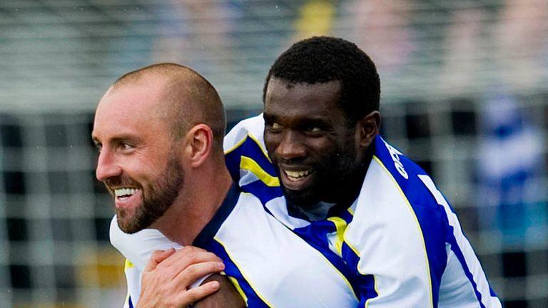 Kris Boyd: Celebrates scoring before being dismissed