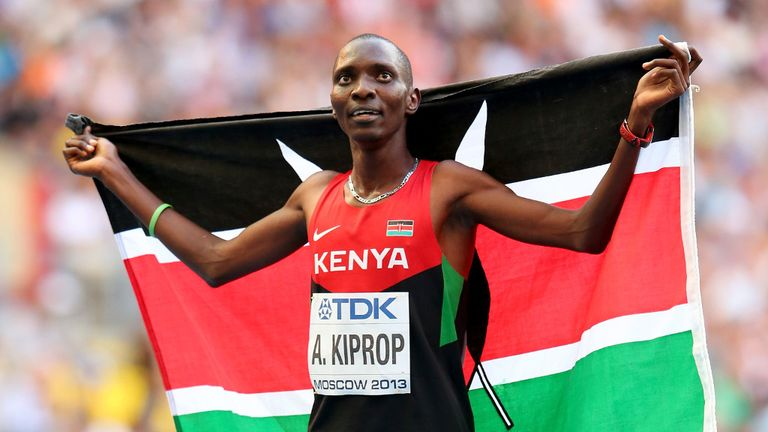 Asbel Kiprop will also be absent in Australia