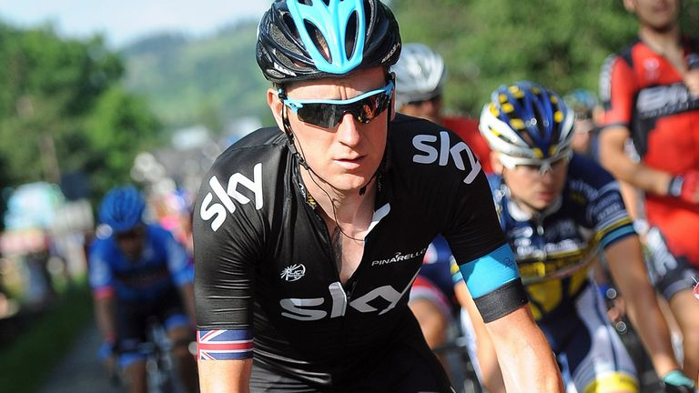 Sir Bradley Wiggins is looking to continue his return to peak fitness