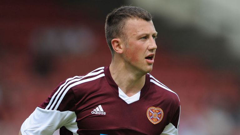 Dale Carrick: Sent Hearts through with the winning penalty