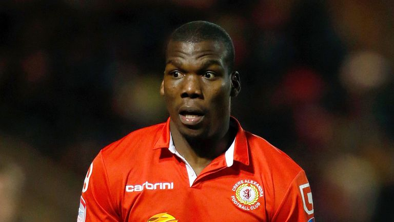 Mathias Pogba: Determined to leave Gresty Road
