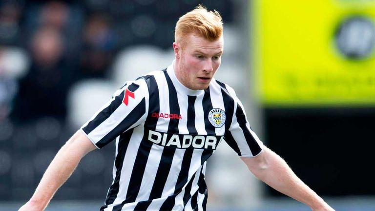 Conor Newton: On target for St Mirren