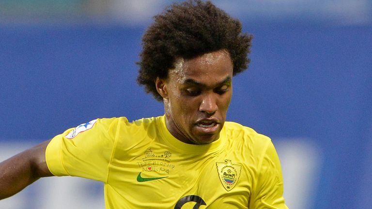Willian: Poised to join Tottenham