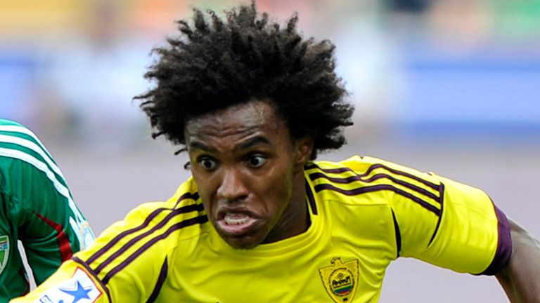 Willian: Reported to be among those Andre Villas-Boas is looking to land