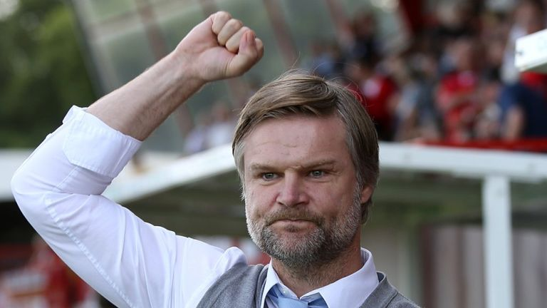 Steven Pressley: In contention for the League One Manager of the Month award