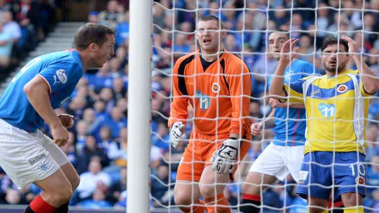 Jon Daly: Enjoyed a day to remember against Stenhousemuir at Ibrox