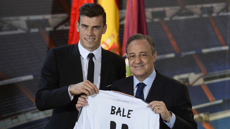 Gareth Bale: Transfer fee is 'incomprehensible', admits Real assistant boss Zinedine Zidane