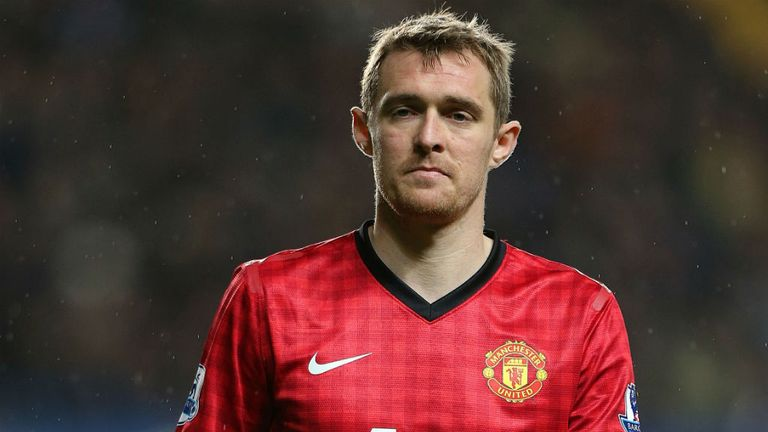 Darren Fletcher: Played 90 minutes after almost two years out