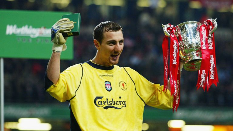 Jerzy Dudek tells Paul Merson and Max Rushden who he would choose as his starting XI