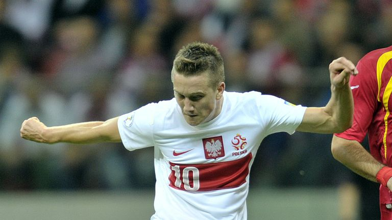 Zielinski is at Euro 2016 with Poland