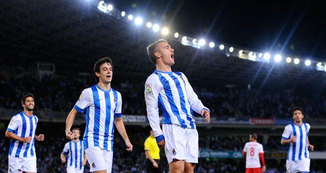Griezmann, jovem da formação, é uma das estrelas da Real Sociedad. / Fonte: Sky Sports
