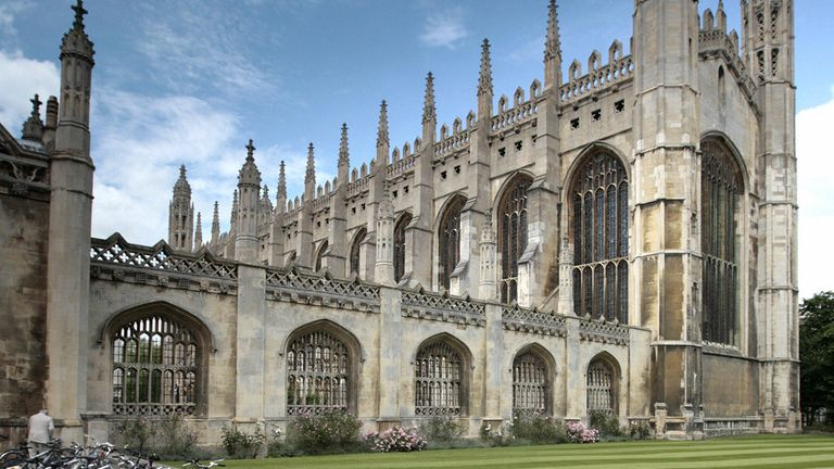 Cambridge is known for its love of bicycles