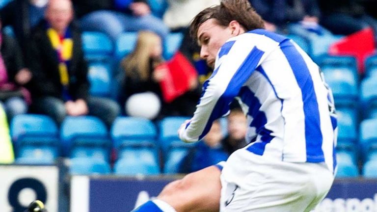 Jackson Irvine: Netted in Kilmarnock's victory over Ross County