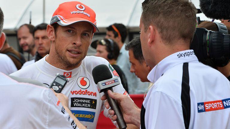 Jenson Button would love a London GP