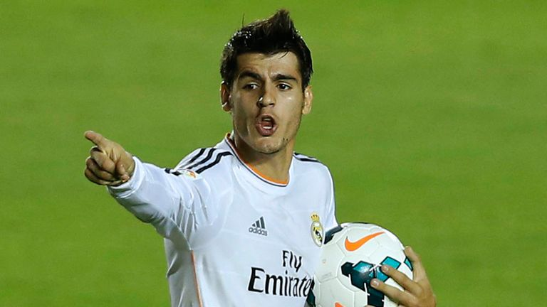 Alvaro Morata: Played down talk linking him with move to the Premier League