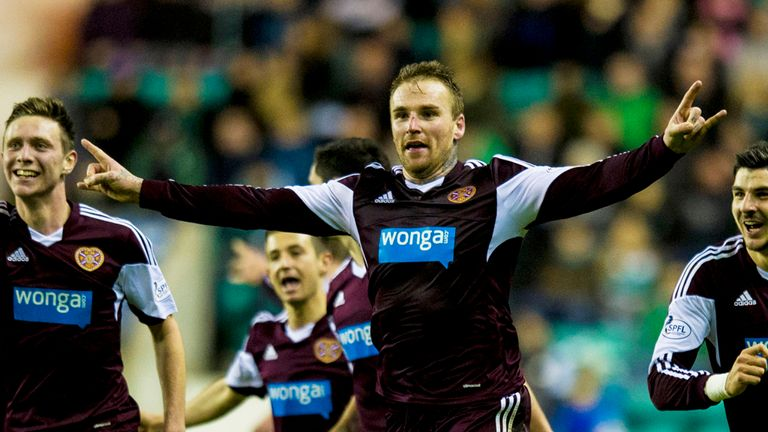 Ryan Stevenson: Bagged the only goal in the Edinburgh derby at Easter Road