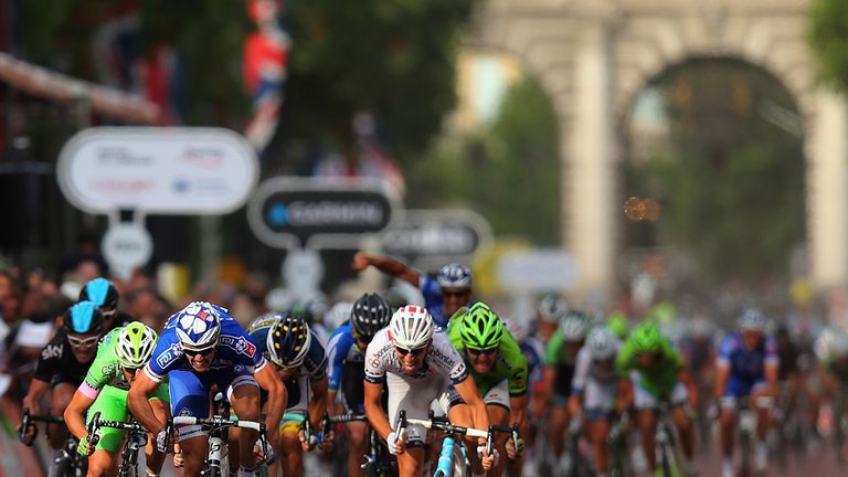 The Mall is fast becoming one of cycling's most prestigious finishing straights