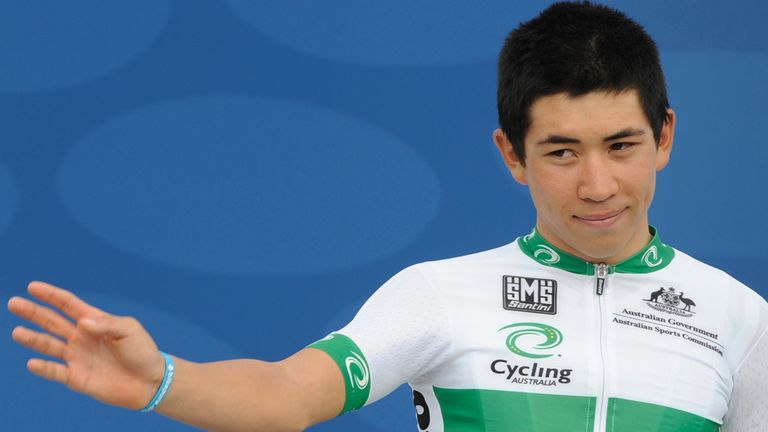 Caleb Ewan was one of the most highly sought-after amateur riders