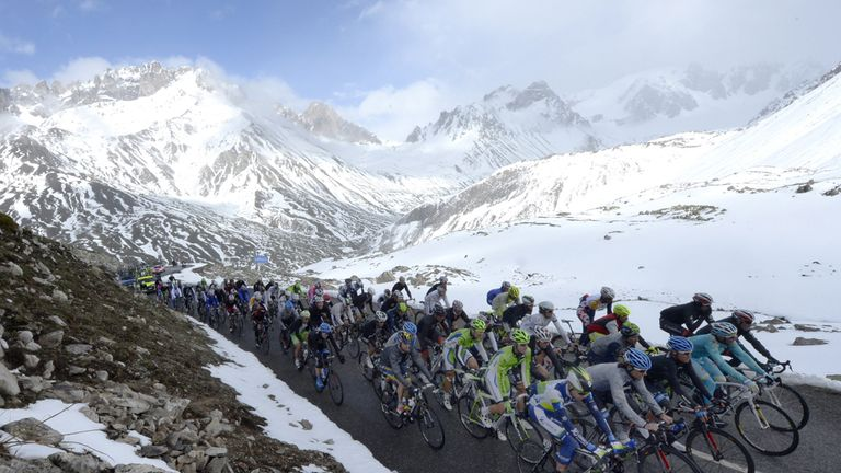Sky Sports will once again screen highlights of the Giro d'Italia