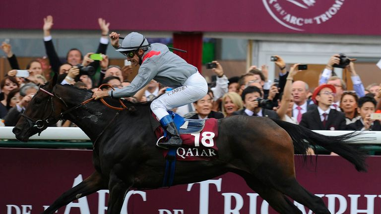 The Irish Champion Stakes could provide part of a European Triple Crown
