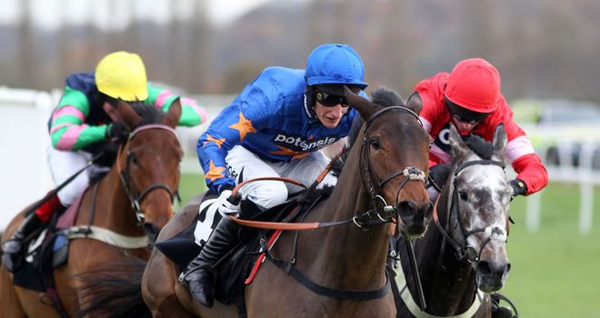 Calipto impressed on his chase debut at Fontwell