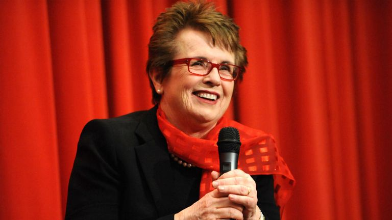Billie Jean King: Former tennis star to represent USA in Sochi opening ceremony