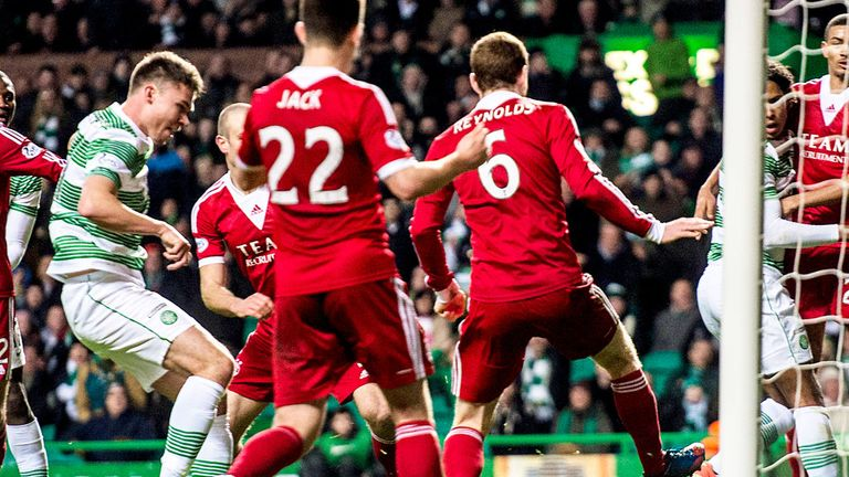 Derk Boerrigter: Scored his first goal for Celtic in the win against Aberdeen
