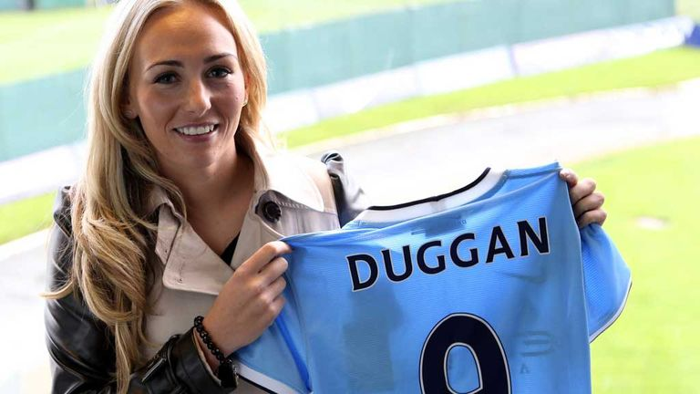 Women s football  Toni Duggan welcomes the appointment of Mark ... c188620a9