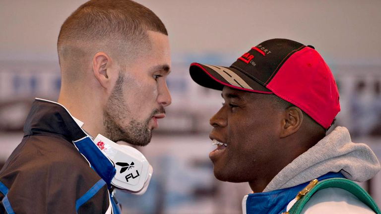 Adonis Stevenson defeated Bellew after a fiery war of words