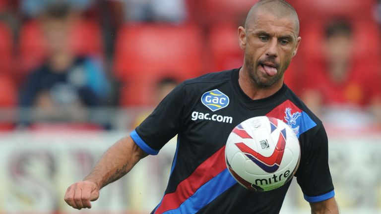 Phillips: Has found opportunities limited at Palace this season