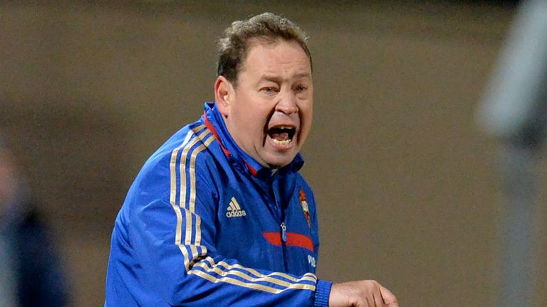 Leonid Slutsky: Russia's new head coach