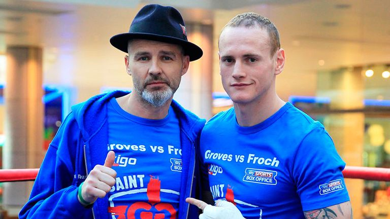 Paddy Fitzpatrick (L) isn't expecting to work with George Groves again