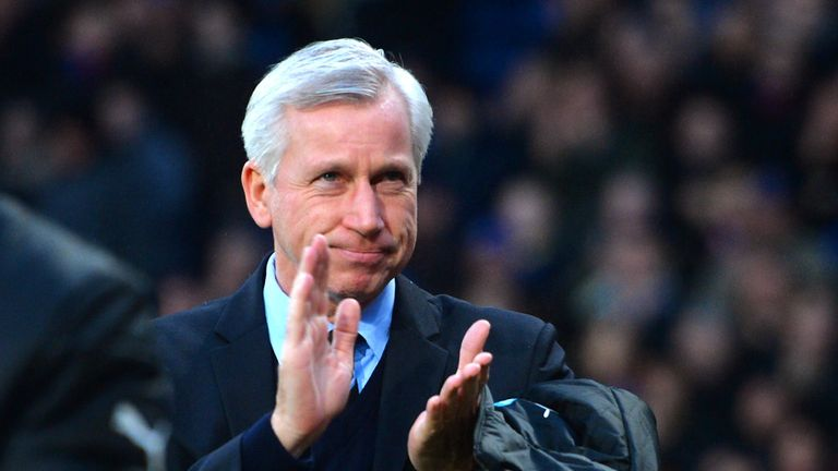 Alan Pardew: Happy with the depth of his squad