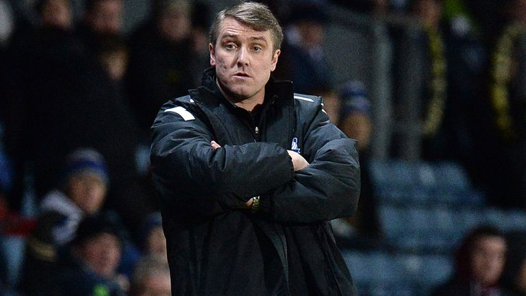 Lee Clark: Has seen Birmingham rise away from the Championship drop zone
