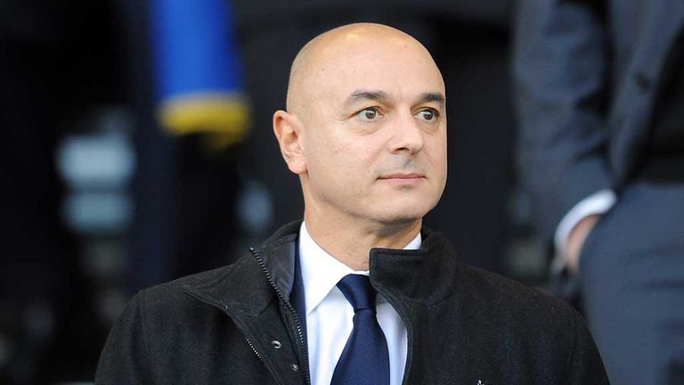 Daniel Levy has said he would love nothing more than for Pochettino to remain boss for 10 or 15 years