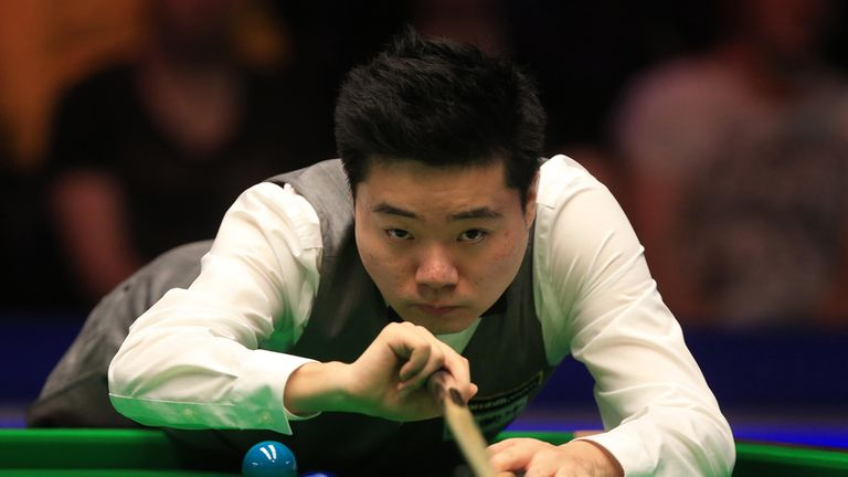 Ding Junhui: Looking to win a record-equalling fifth title of the season