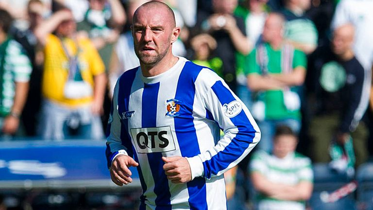 Kris Boyd: Two goals for Kilmarnock against Hearts