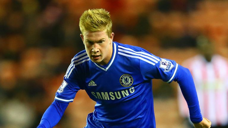 De Bruyne: Midfielder got just two starts under Jose Mourinho