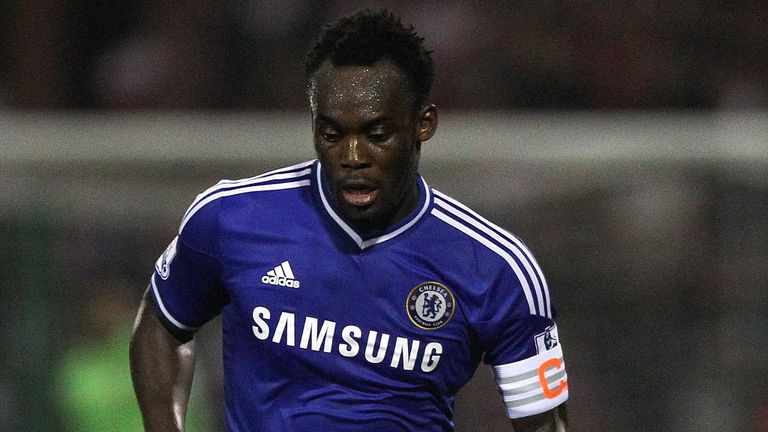 Michael Essien: Chelsea midfielder has struggled for regular action this season