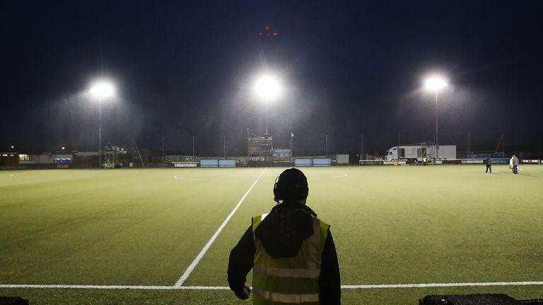 Rangers' match at Stenhousemuir was postponed