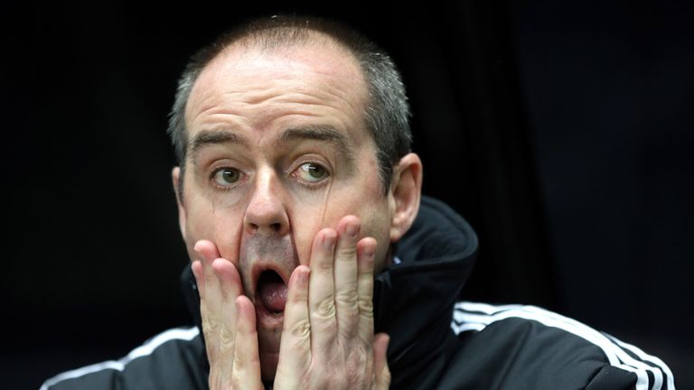Steve Clarke: Axed after miserable run of form