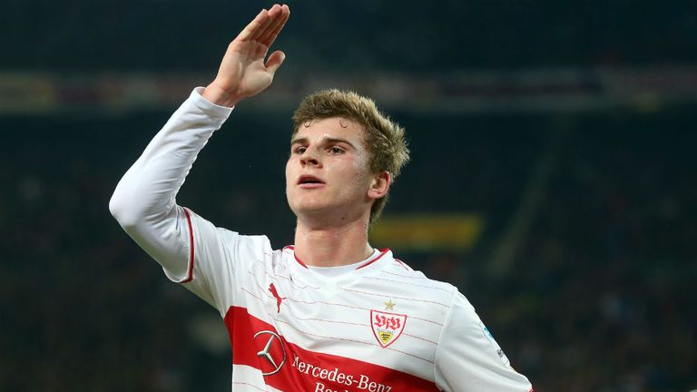 Timo Werner: The youngster has been praised by TV pundit Mehmet Scholl