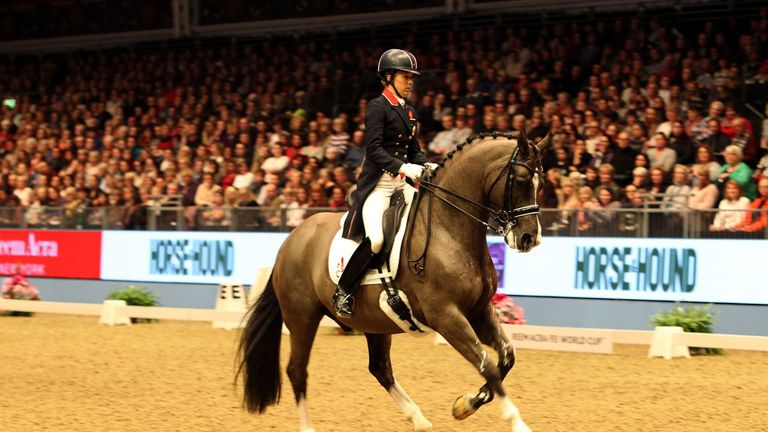 Charlotte Dujardin: Has added another world record to her collection