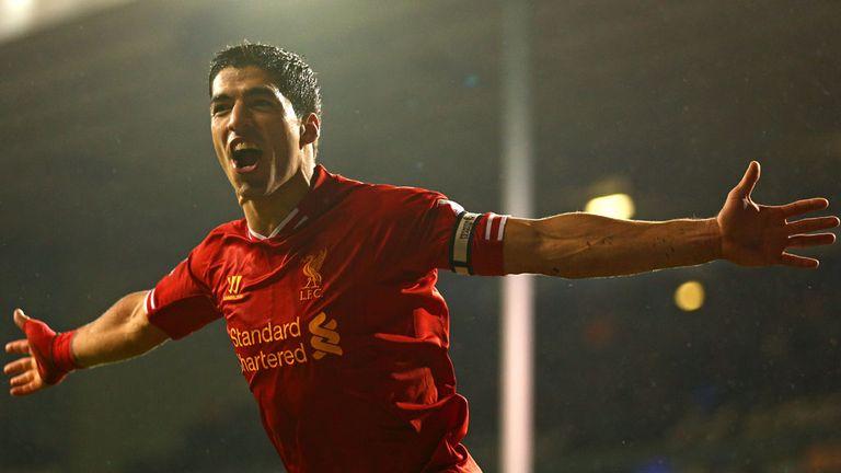 Luis Suarez: Liverpool striker scored twice in 5-0 win over Tottenham