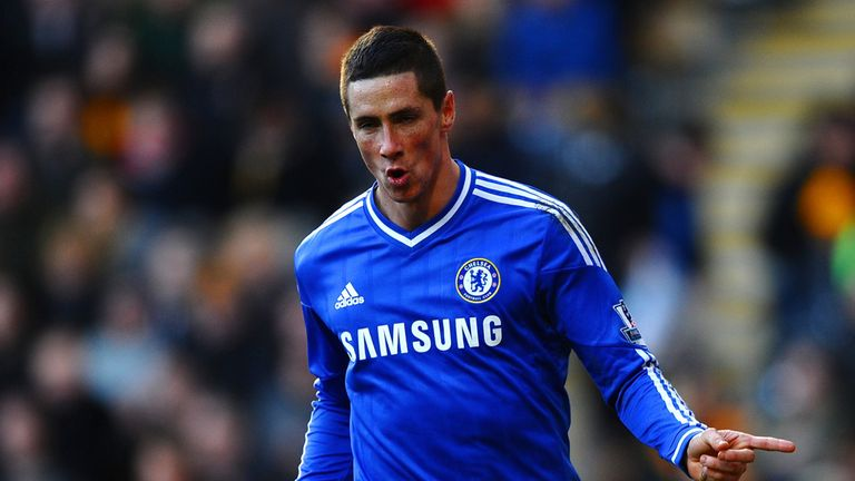 Fernando Torres: Chelsea striker celebrates hos goal at Hull