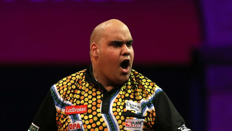 Kyle Anderson: One of the first four Tour Card winners on the opening day of the 2014 PDC Qualifying School