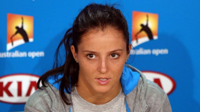Laura Robson: No.1 out of next month's Fed Cup